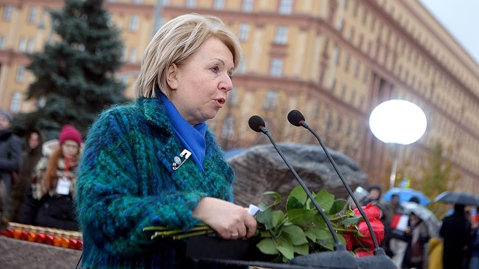 Председатель партии «Яблоко» Эмилия Слабунова