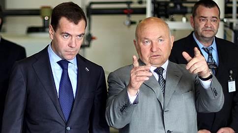 Лужков назвал причиной отставки отказ поддержать выдвижение Медведева на второй срок