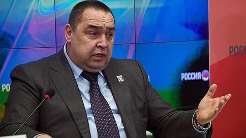 Плотницкий обвинил бывшего главу МВД в попытке дестабилизировать ситуацию в ЛНР