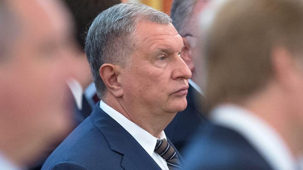 """Глава """"Роснефти"""" Игорь Сечин"""