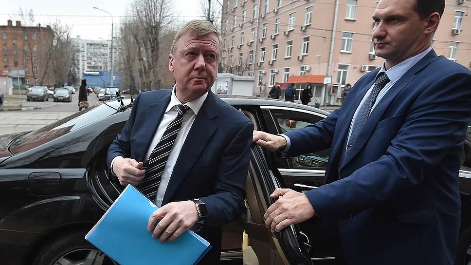 Председатель правления «Роснано» Анатолий Чубайс