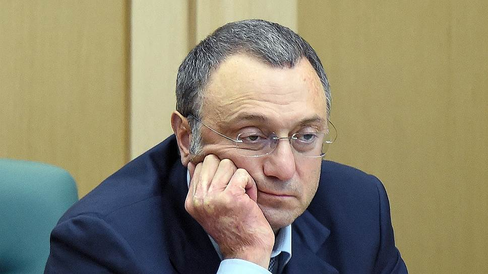 Член Совета федерации Сулейман Керимов