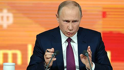 Путин заявил о необходимости таргетирования инфляции