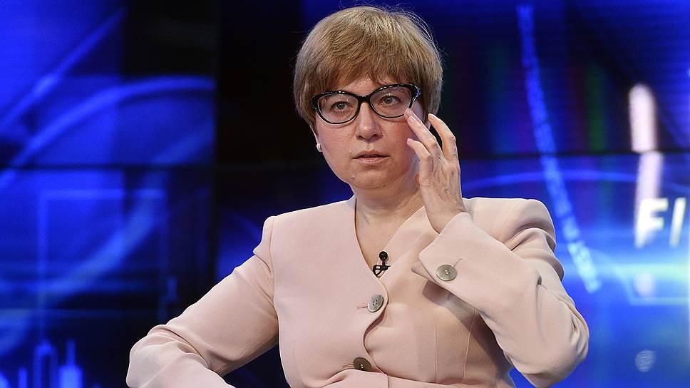 Первый зампред Банка России Ксения Юдаева