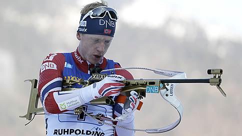Норвежский биатлонист Йоханнес Бё выиграл масс-старт на этапе Кубка мира в Рупольдинге