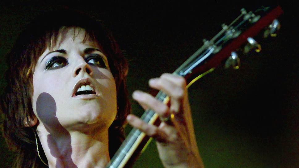 Вокалистка ирландской группы The Cranberries Долорес О'Риордан