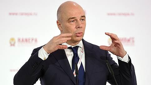 Антон Силуанов обвинил регионы в желании получить больше денег из центра