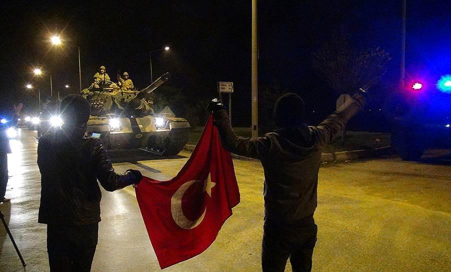 Турецкая провинции Хатай на границе с Сирией