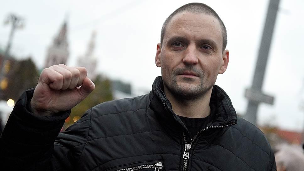 Гражданский активист Сергей Удальцов