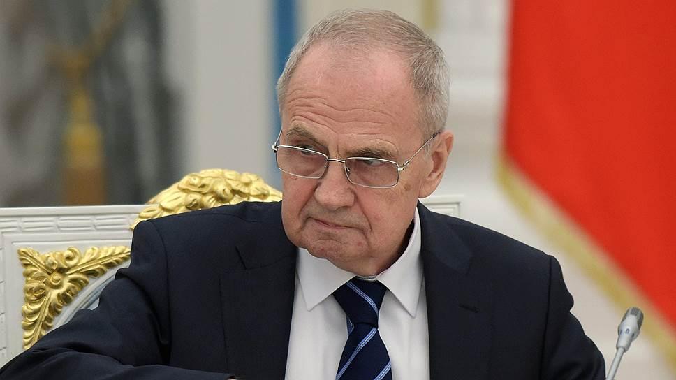 Председатель Конституционного cуда России Валерий Зорькин