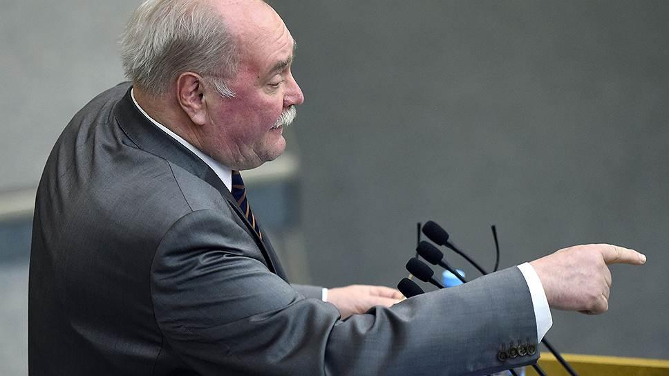 Первый заместитель председателя комитета Госдумы по культуре Владимир Бортко