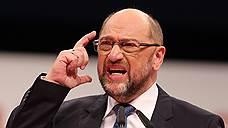 Глава Социал-демократической партии Германии Мартин Шульц