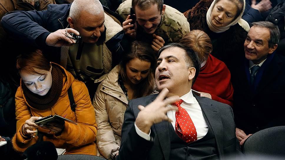 Политик Михаил Саакашвили