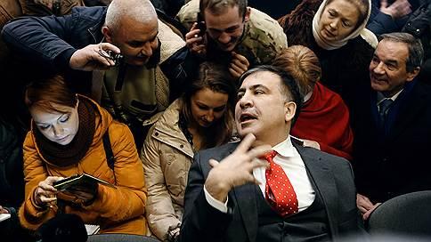 Михаил Саакашвили задержан в центре Киева