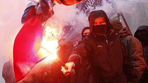 В Киеве радикалы ворвались в здание Россотрудничества