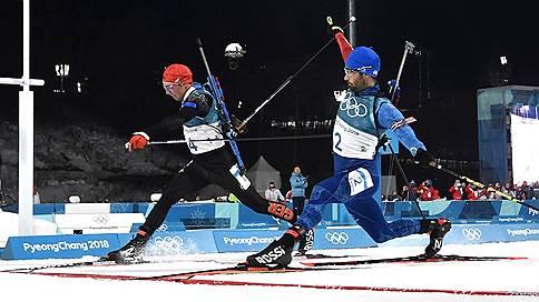 Мартен Фуркад завоевал золотую медаль в масс-старте