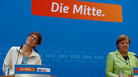 Ангела Меркель выдвинула на должность генсека ХДС премьера земли Саар