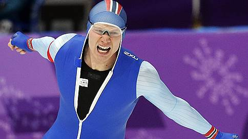 Норвежский конькобежец Лорентсен выиграл золото Олимпиады