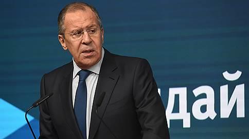 Лавров назвал спекуляцией информацию о сотнях погибших россиянах в Сирии