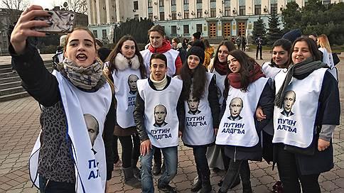 Владимир Путин не снимался в своих агитационных роликах