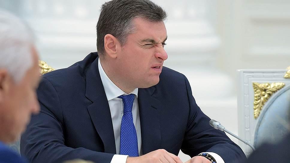 Глава комитета Госдумы по международным делам Леонид Слуцкий