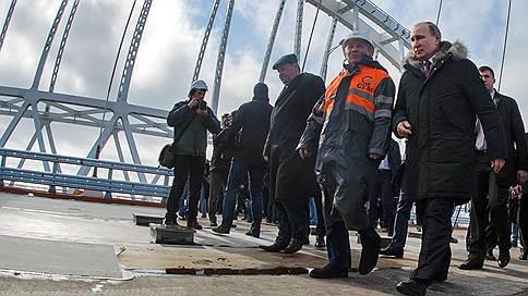 Крымский мост могут открыть для автомобилистов после 9 мая