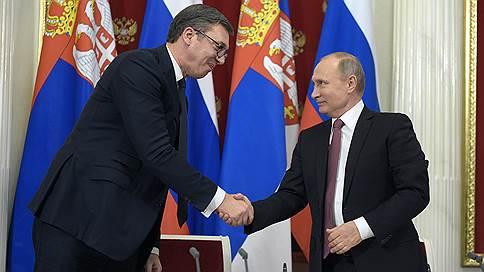 Президент Сербии поздравил Владимира Путина с победой на выборах
