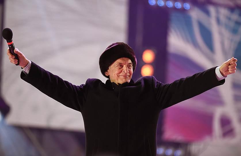 Актер Василий Лановой