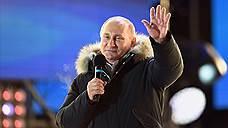 На Манежной площади проходит митинг в честь присоединения Крыма