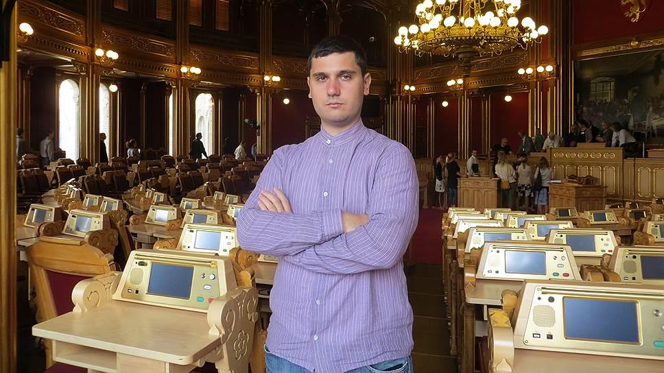 Координатор движения «Голос» в Краснодарском крае Давид Канкия