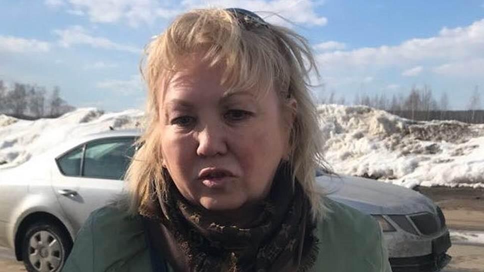 Начальник инспекции Госстройнадзора Кемеровской области Танзилия Комкова