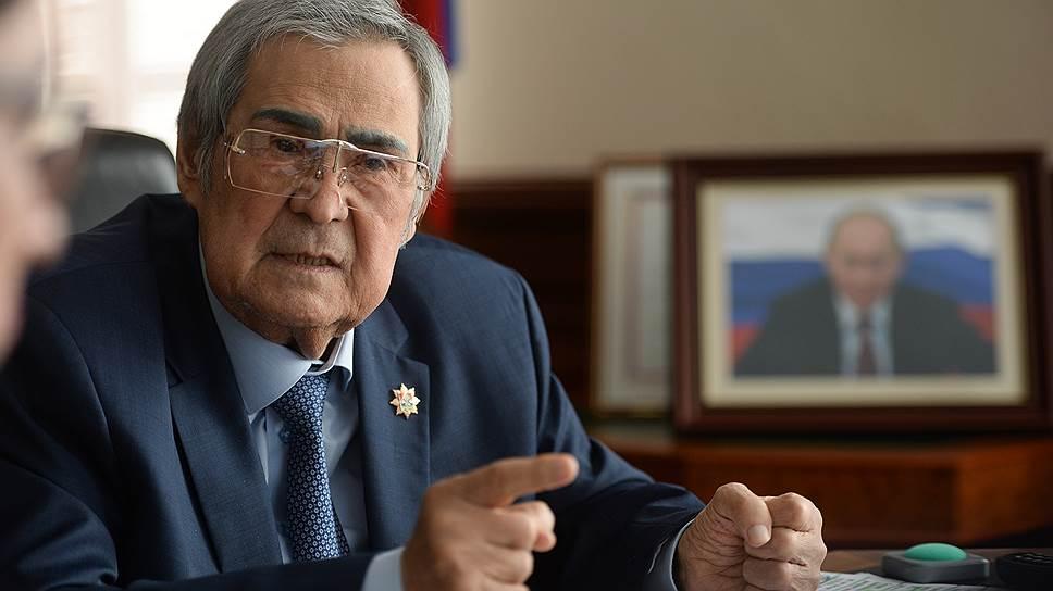 Бывший губернатор Кемеровской области Аман Тулеев