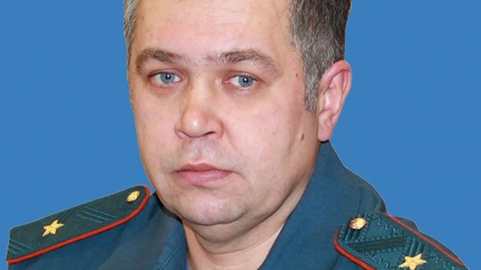 Начальник кемеровского областного управления МЧС Александр Мамонтов
