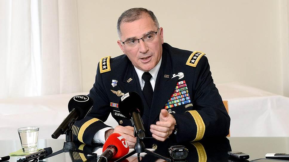 Верховный главнокомандующий Объединенных сил НАТО в Европе Кертис Скапарротти