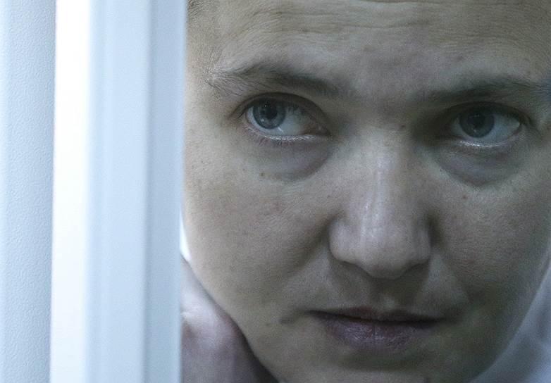 Депутат украинского парламента Надежда Савченко