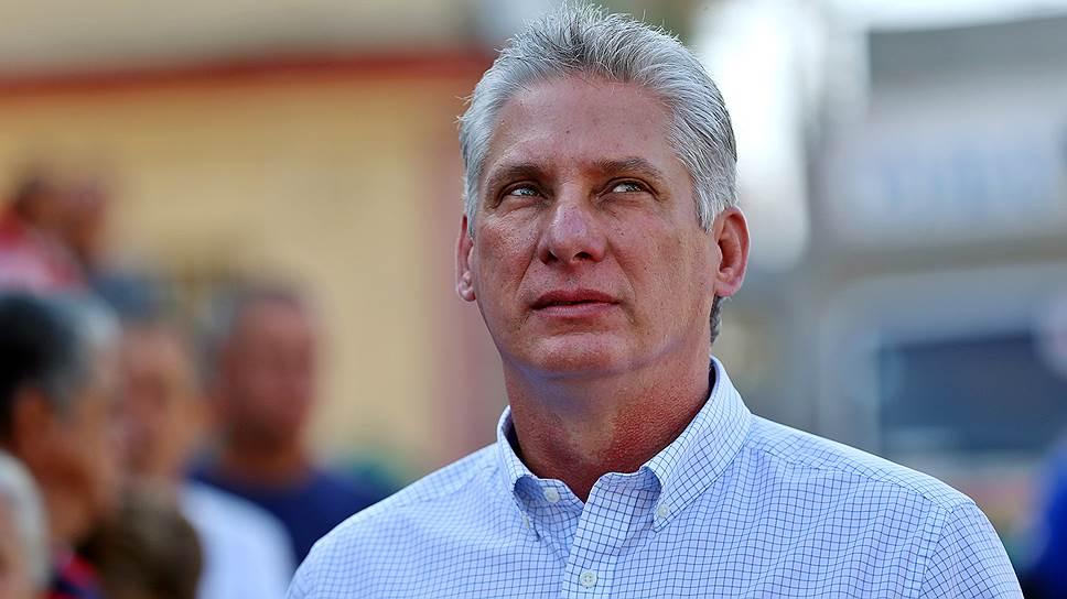Кандидат на пост главы Госсовета Кубы Мигель Диас-Канель