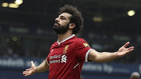Лучшим игроком Англии по версии футболистов стал Мохамед Салах