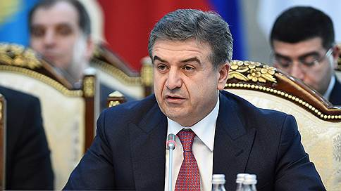 Врио премьер-министра Армении стал Карен Карапетян