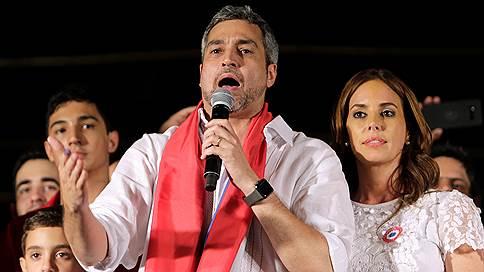 На президентских выборах в Парагвае победил кандидат от правящей партии