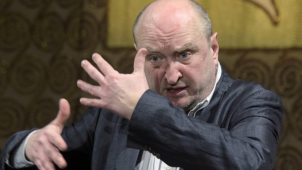 Новый художественный руководитель МХТ им. Чехова Сергей Женовач