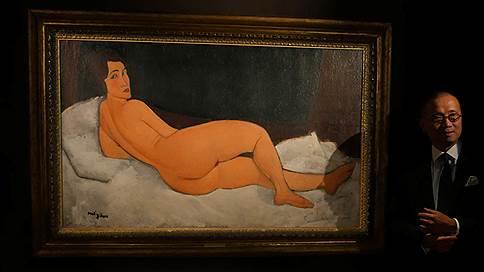 Картина Модильяни установила рекорд стартовой цены на Sotheby's