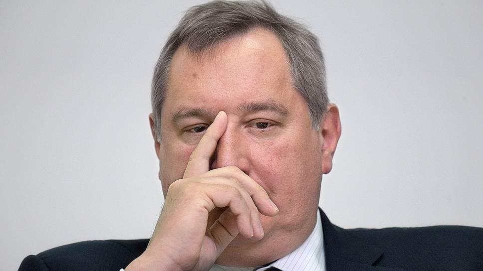И.о. вице-премьера России Дмитрий Рогозин