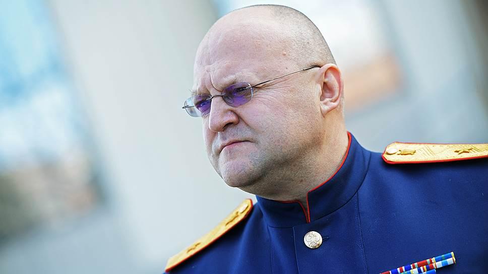 Бывший начальник ГСУ СКР по Москве Алексей Дрыманов