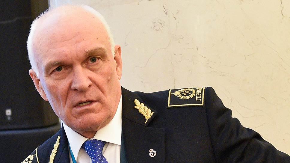 Ректор Санкт-Петербургского горного университета Владимир Литвиненко