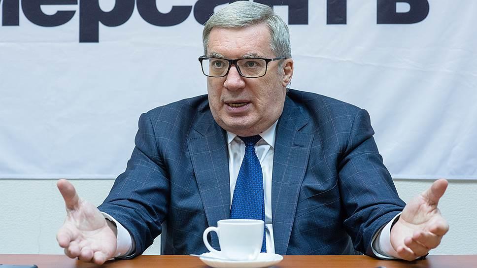 Бывший губернатор Новосибирской области и Красноярского края Виктор Толоконский