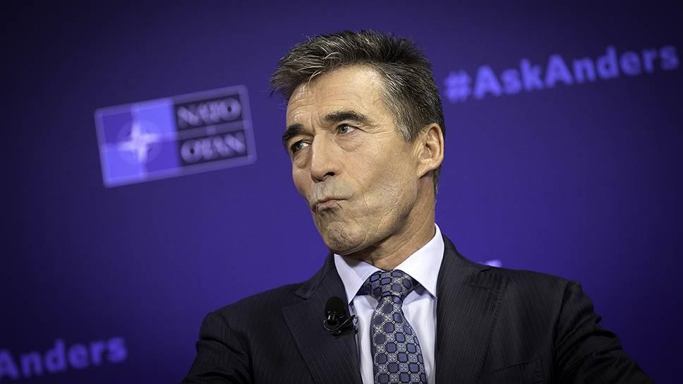 Бывший генеральный секретарь НАТО Фог Расмуссен