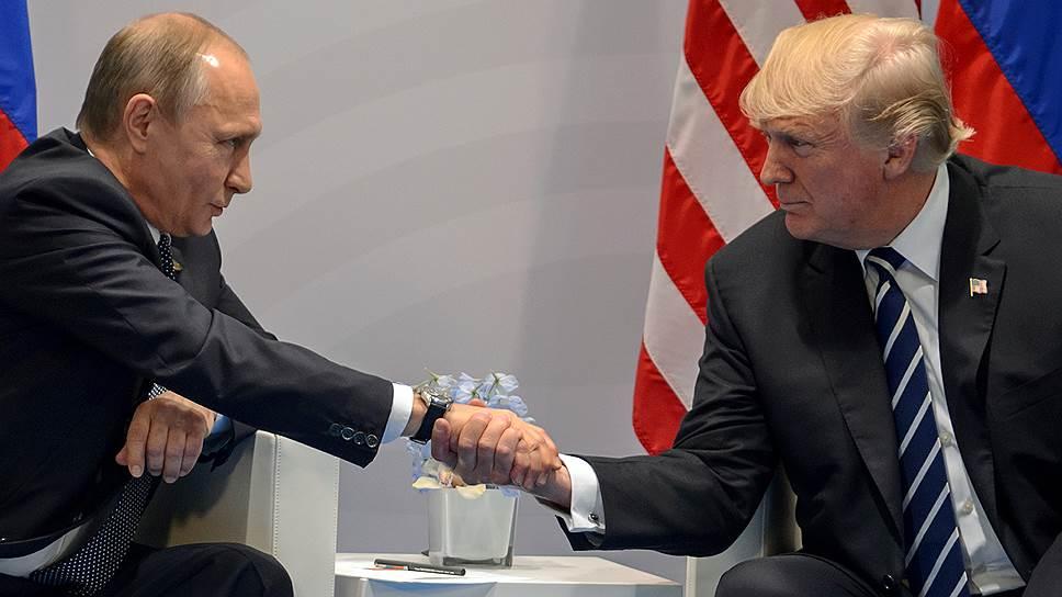 Кремль не исключил встречи Владимира Путина и Дональда Трампа летом