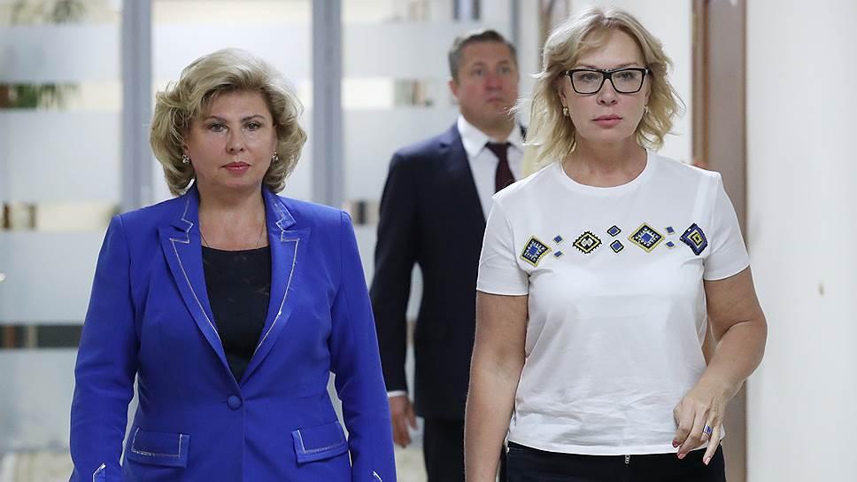 Омбудсмены России и Украины договорились о посещениях Олега Сенцова и Кирилла Вышинского