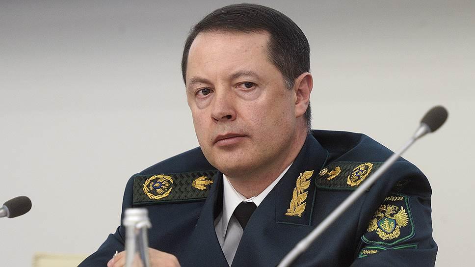 Руководитель Росприроднадзора Артем Сидоров