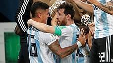 В 1/8 финала ЧМ-2018 вышли Хорватия и Аргентина